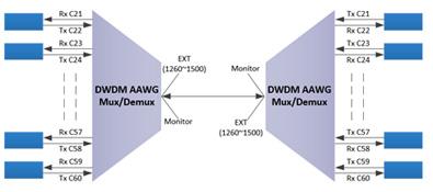 DWDM AAWG module 7